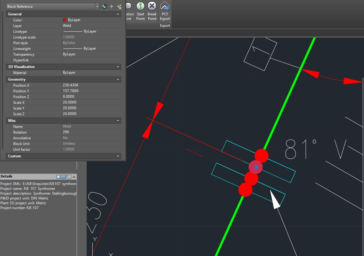 Solved: Plant 3D 2016 Isometric weld list shown but weld ...