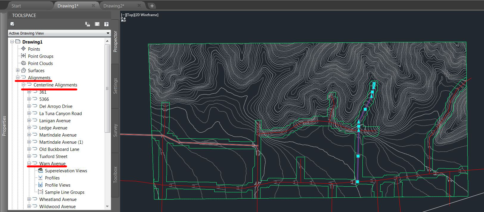 Importing Road Data from InfraWorks to Civil 3D: what to expect