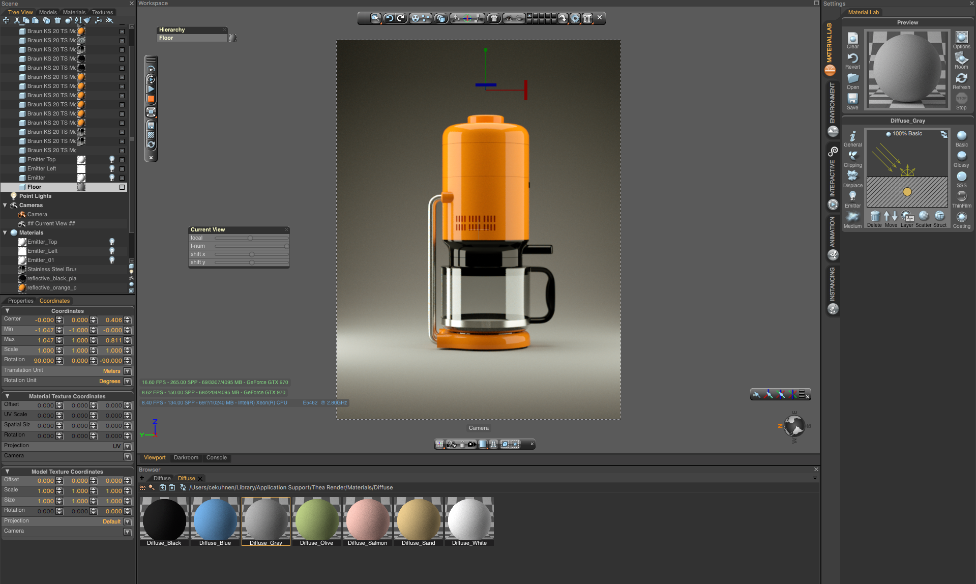 product rendering tutorial with thea render and fusion 360