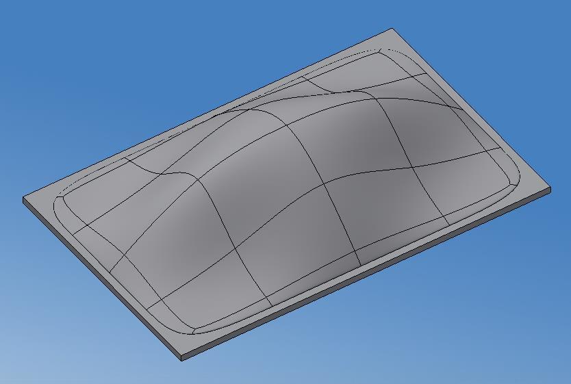 ad2c0f781e1e1f Dome with a rectangle base - Autodesk Community- Inventor