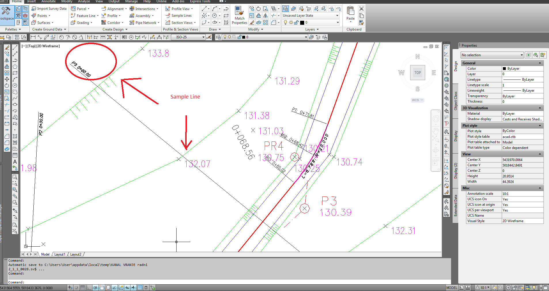 how to fix autocad profile