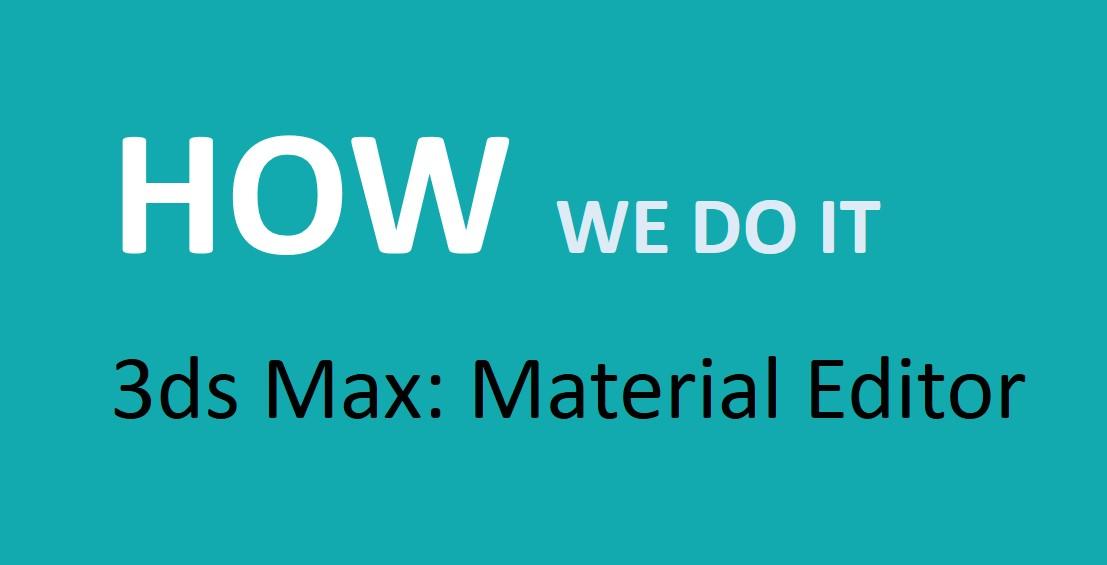 Max material editor slots