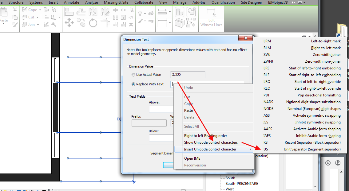 Dimension without text wanted - Autodesk Community- Revit