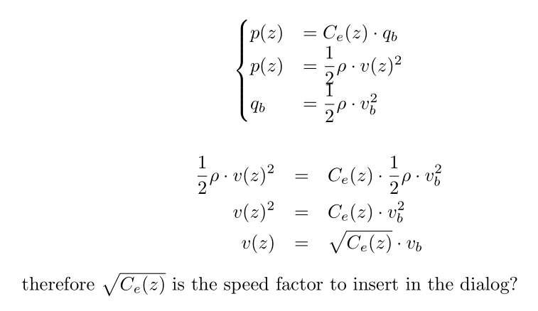 Solved: Wind speed factor meaning - Autodesk Community