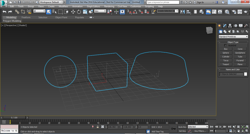 3ds max how to cut a shape from another