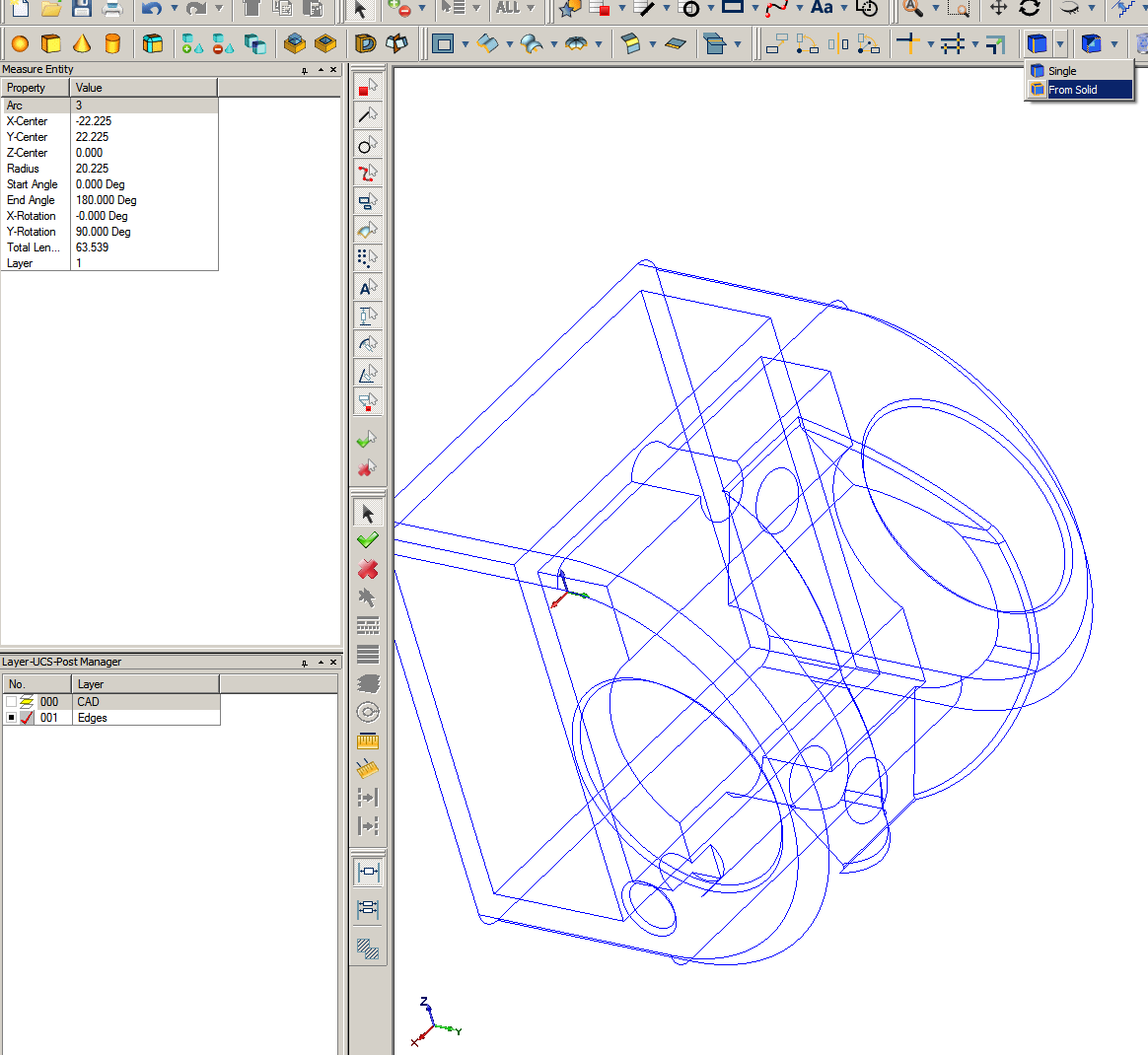 Autodesk Fusion 360 or Autodesk Inventor file exports to