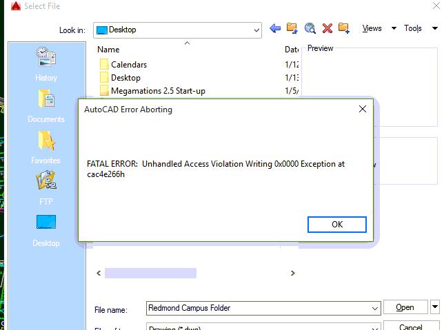 Write access violation c thomas