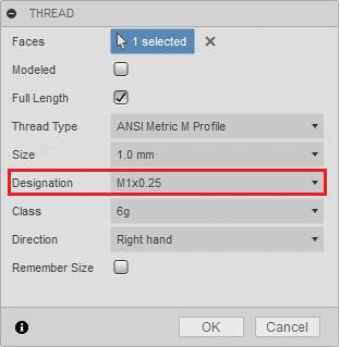 Metric Thread Data - Autodesk Community