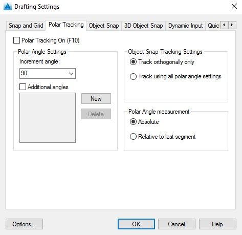 how to change cursor size in autocad 2017