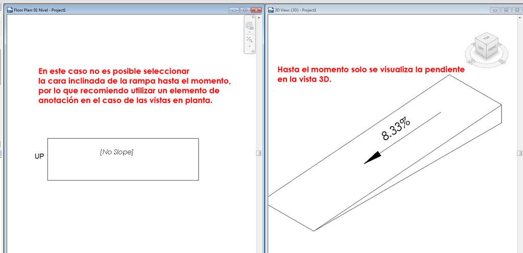 Linea De Pendiente Rampa Autodesk Community