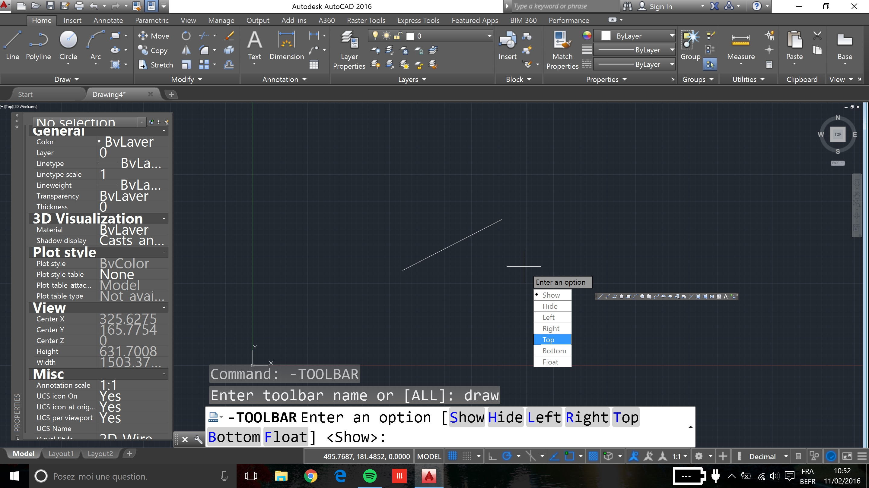 R 233 Solu Probl 232 Me D Affichage Dans Autocad 2016