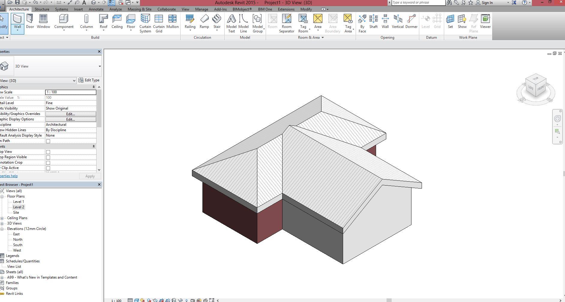 Solved Gable Roof Autodesk Community