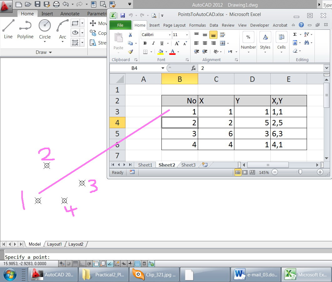 Solved: Points Labeling, - Autodesk Community- AutoCAD