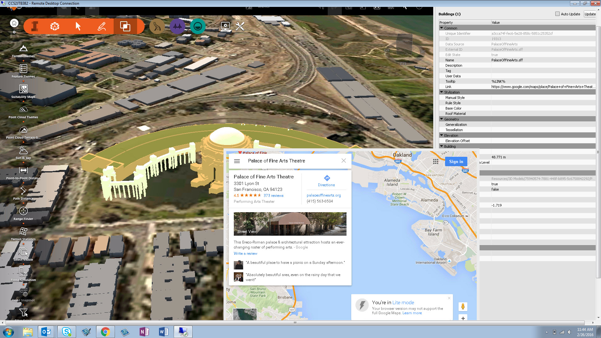 Maps 360.Add Google Maps To Any Feature And Use It Inside Of Infraworks 360
