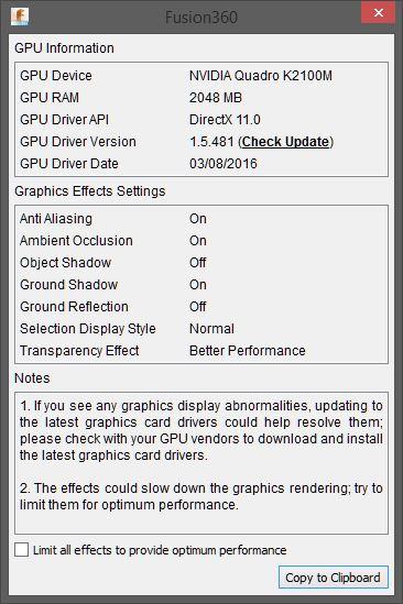Screen redraw issue - Autodesk Community- Fusion 360