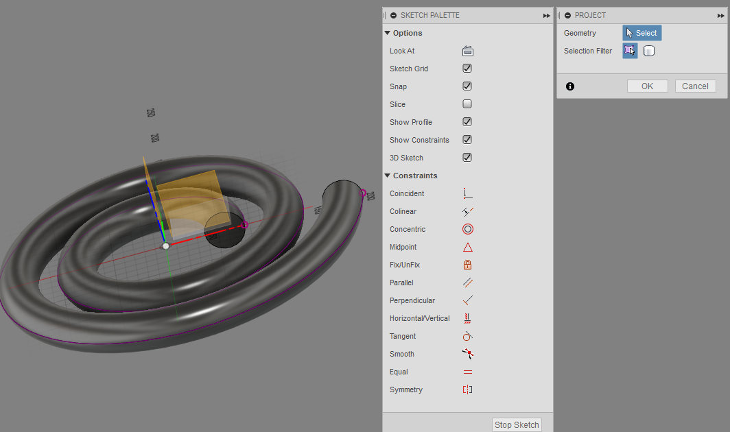 how to draw a spiral - Autodesk Community- Fusion 360