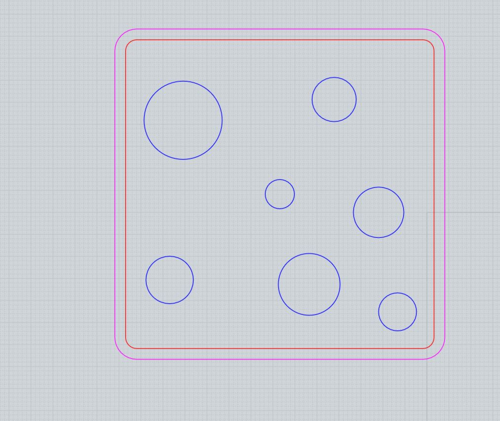 Give geometry in sketches a color for2D laser cutting CNC cutting