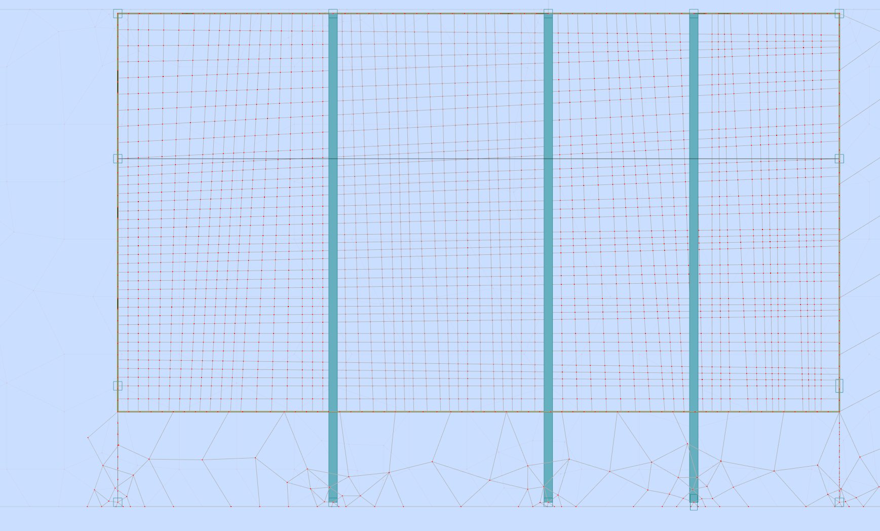 Solved Swimming Pool Supported On Transfer Beams And Deep