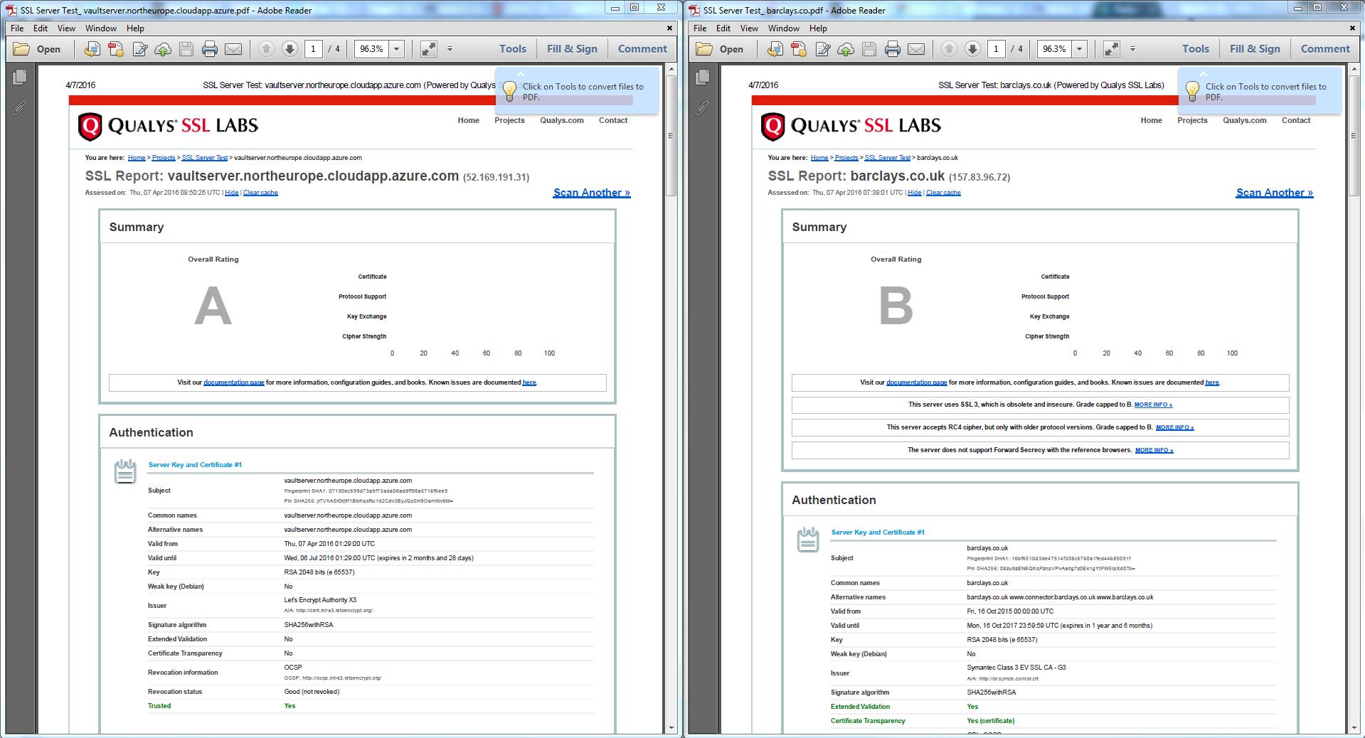 Solved vault fqdn ssl autodesk community ssl labs comparisong xflitez Images