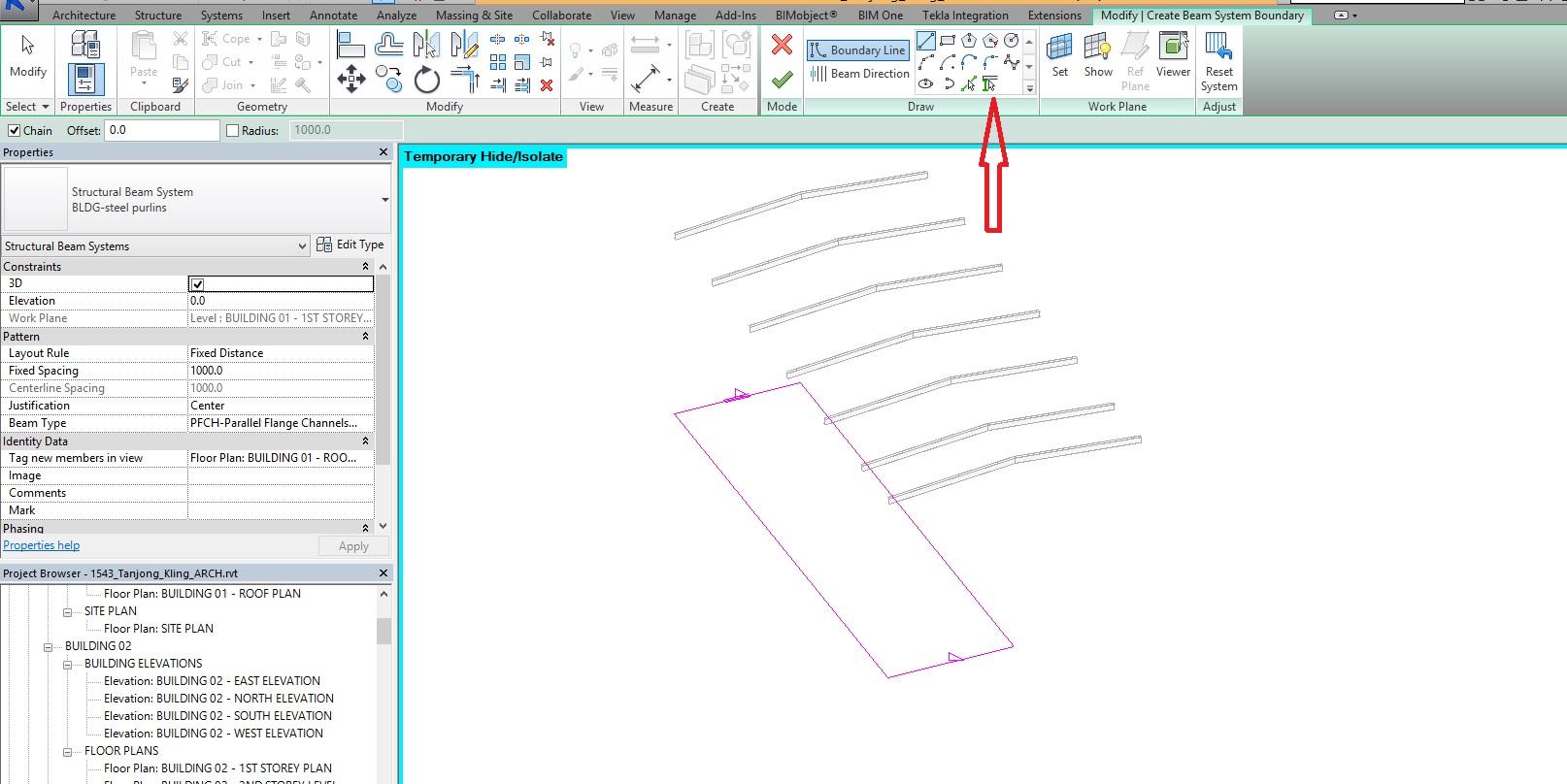 Beam system - Autodesk Community- Revit Products