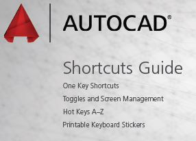 AutoCad Shortcuts - Printable PDF - Autodesk Community- AutoCAD