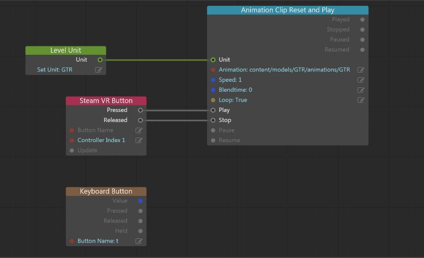 Steam Vr Button flow node questions - Autodesk Community- Stingray