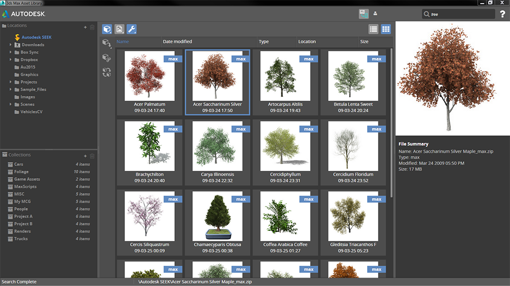 3ds max asset library free download
