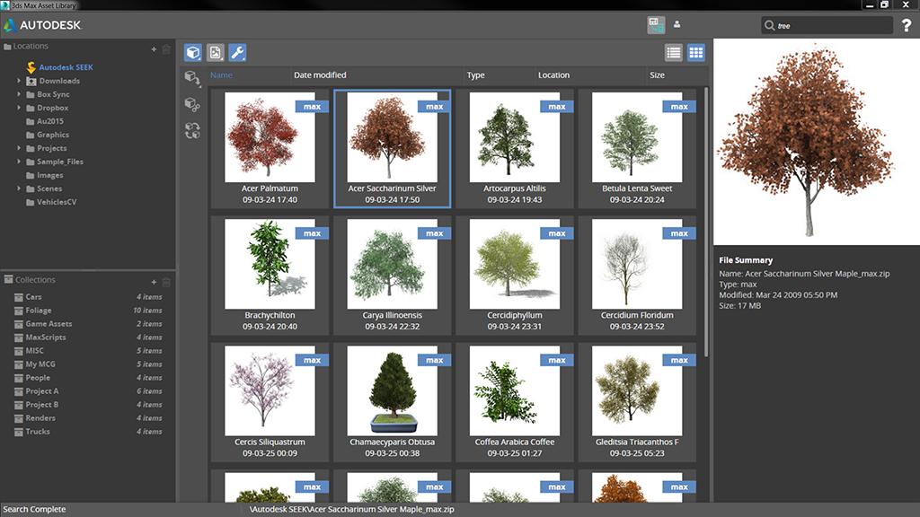 Autodesk 3ds Max Asset Library - Autodesk Community