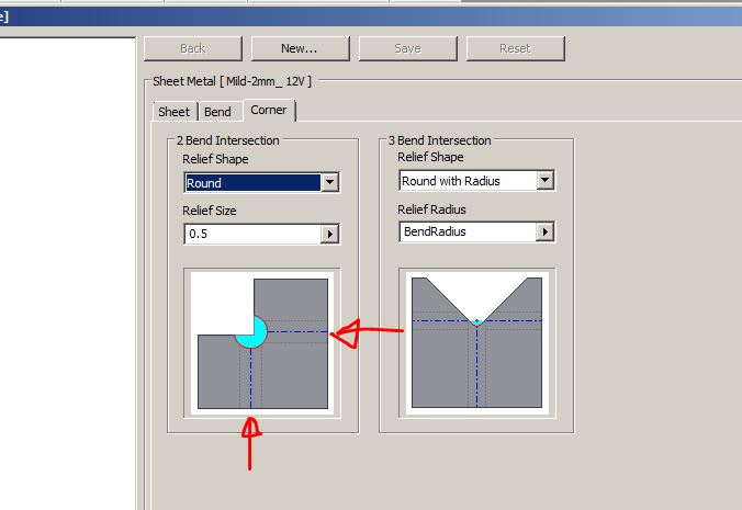 Why Holes Off Centre Sheet Metal Bend Relief Autodesk