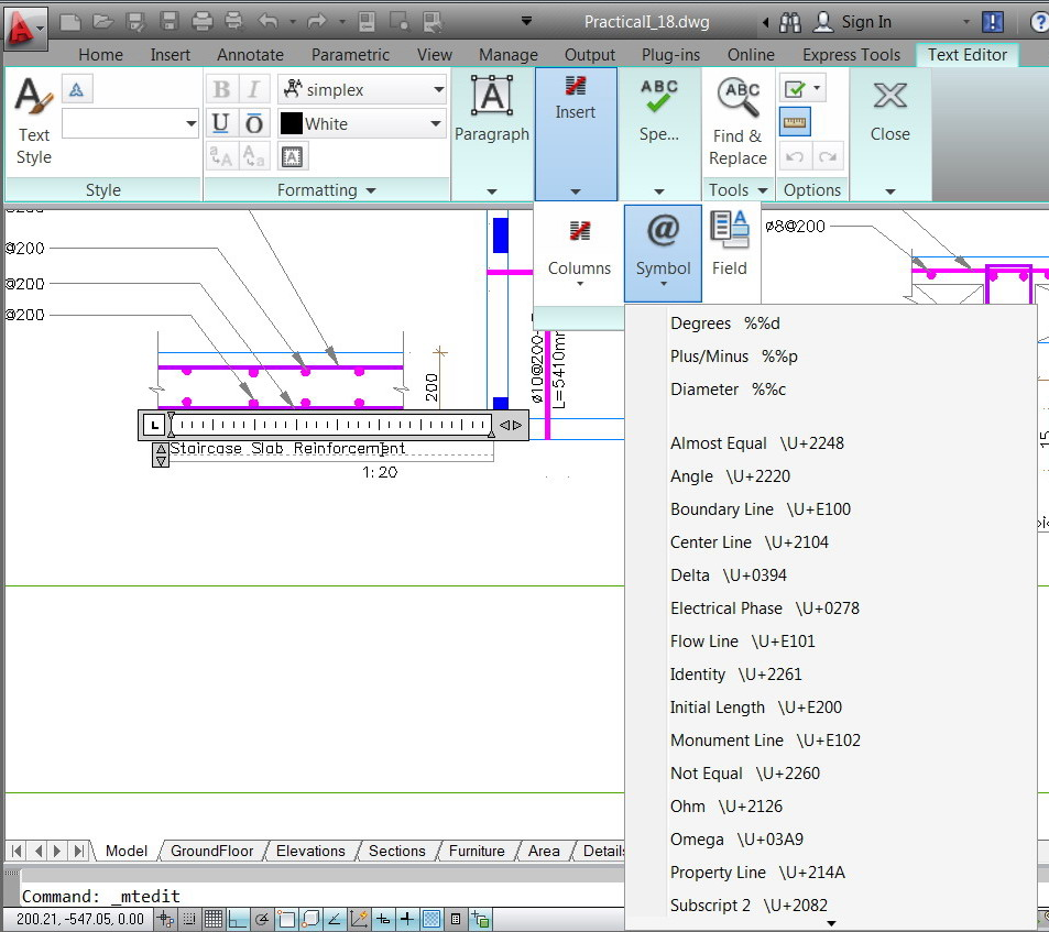 Solved underlining the single text and multiline text pox 731 ramallah west bank palestine software autocad 2014 autocad c3d autocad m3d buycottarizona