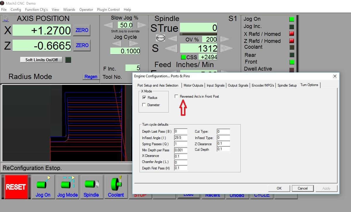 Solved: Circular retraction Mach3 Turn - Autodesk Community