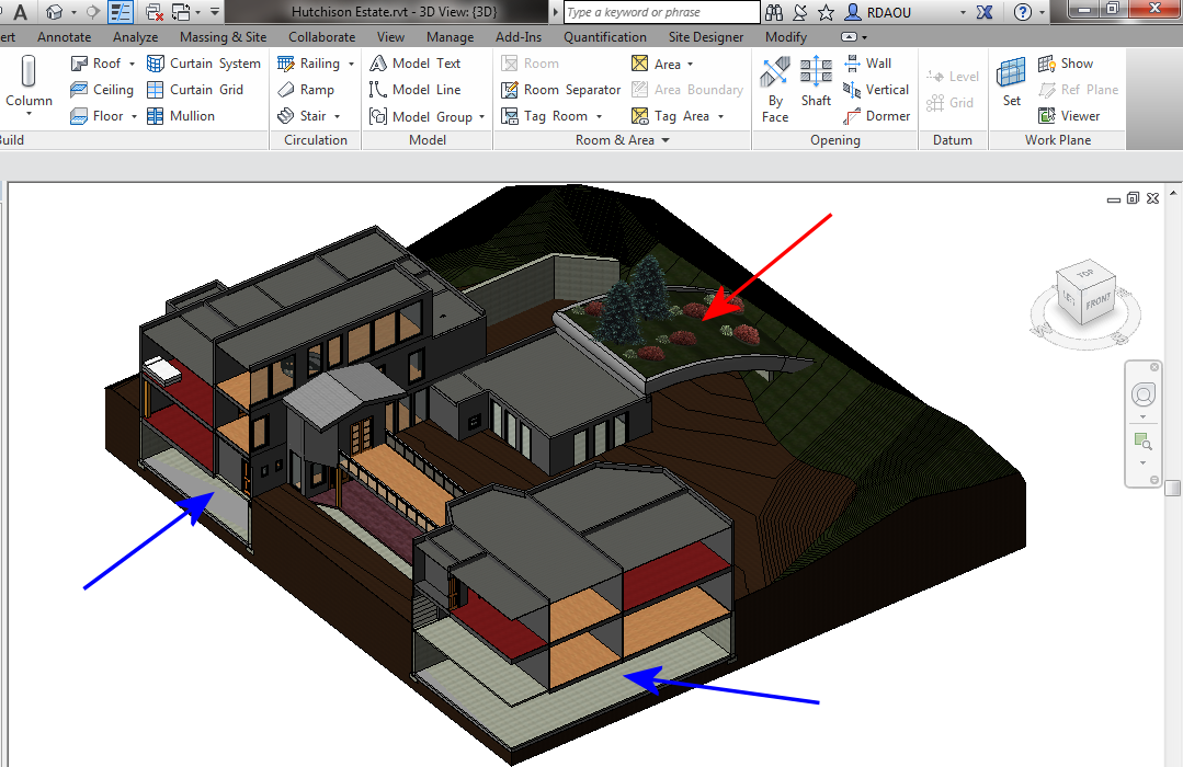 how to create a toposurface on revit