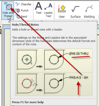 Solved: Inserted Hole Dimensions Not matching Feature