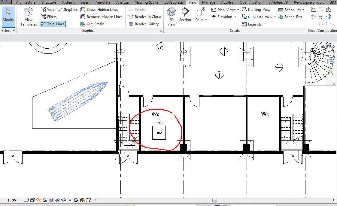 Elevation View Vs Plan View : Elevation looks like section autodesk community