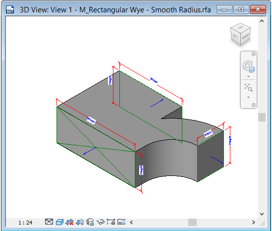 Duct fitting reducing elbow issue autodesk community