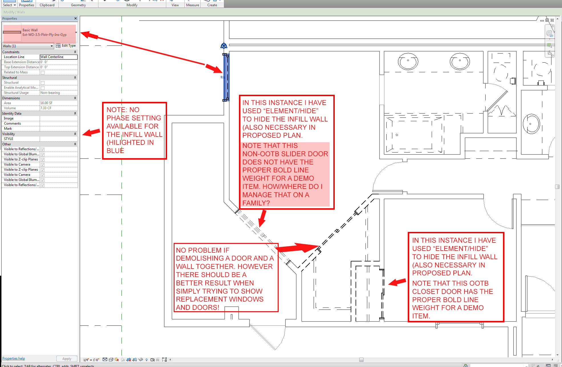 Solved: Cut/Paste windows and doors from existing view to ...