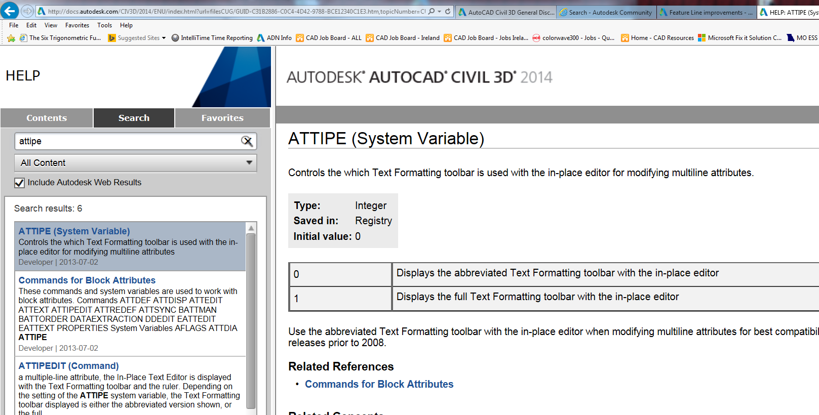 System Variables - Autodesk Community- Civil 3D