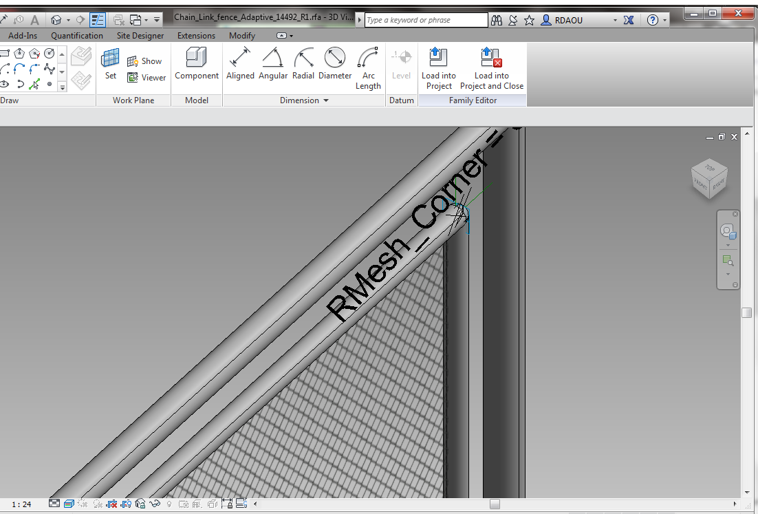 Solved Wire Mesh Wall Autodesk Community