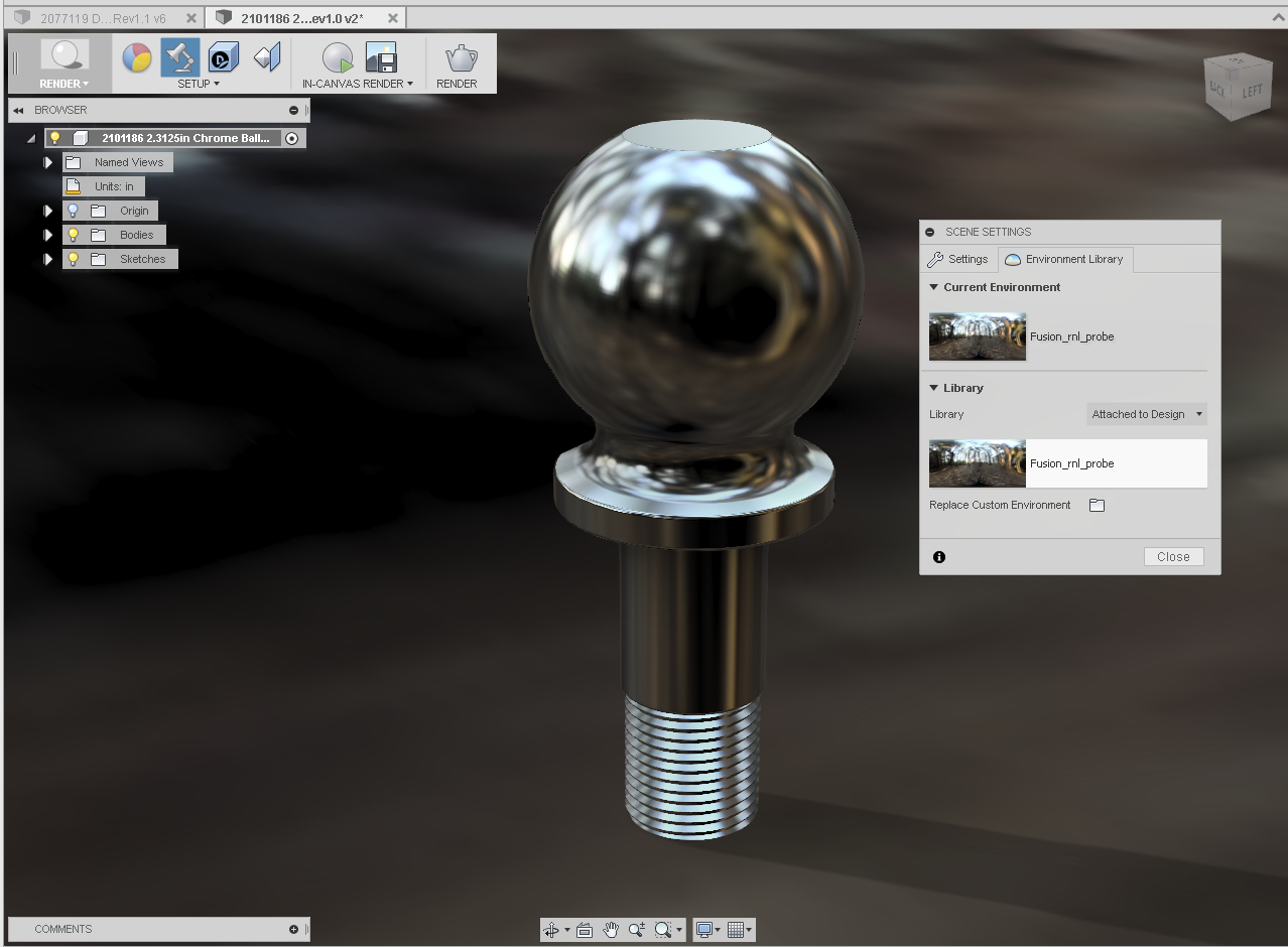 Creating Custom Environment for Rendering in Fusion 360 - Autodesk