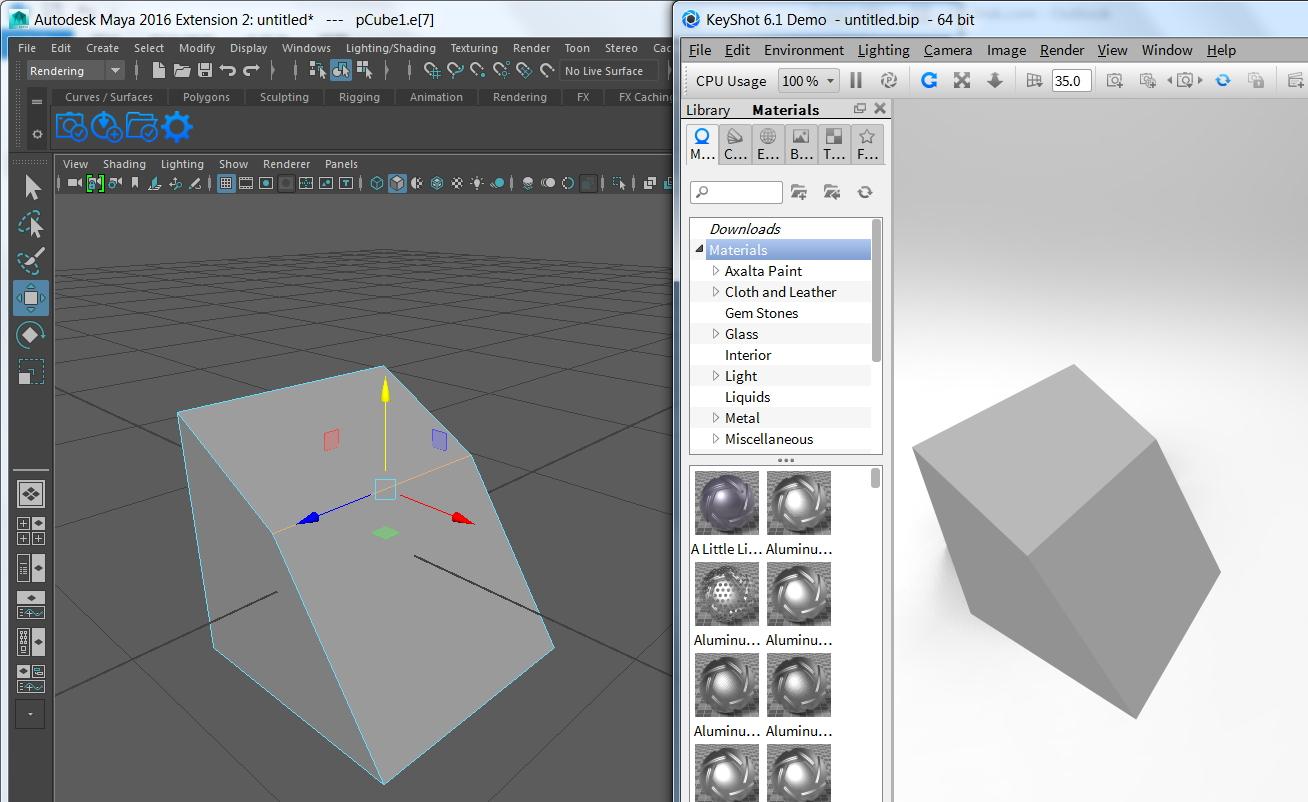 keyshot plugin - Autodesk Community- Maya