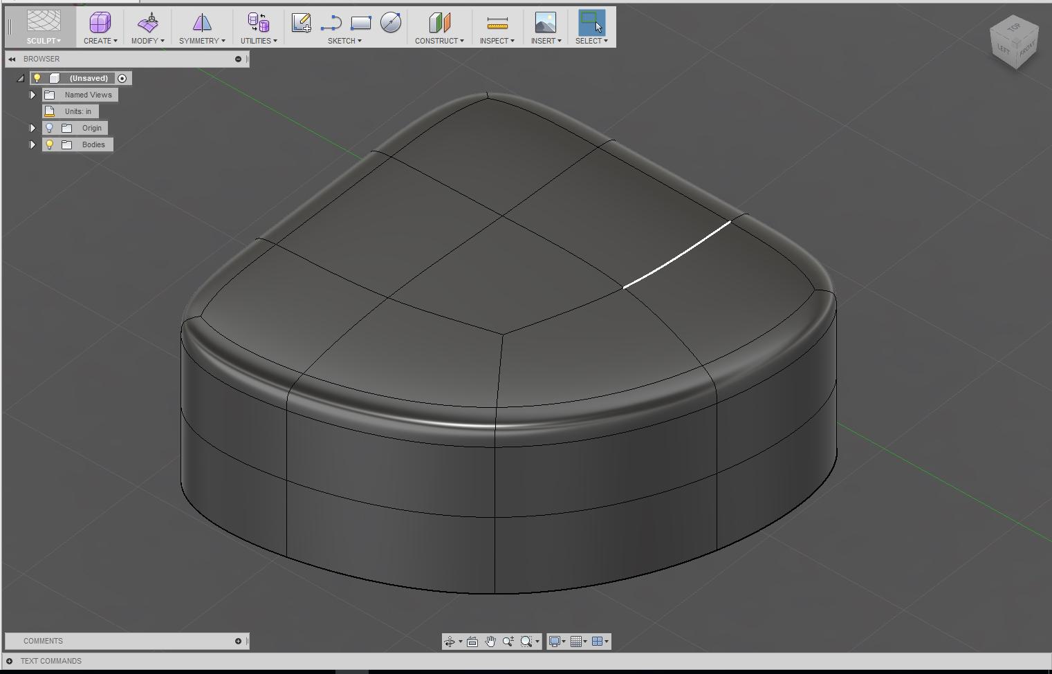 T spline body modification autodesk community for T spline architecture