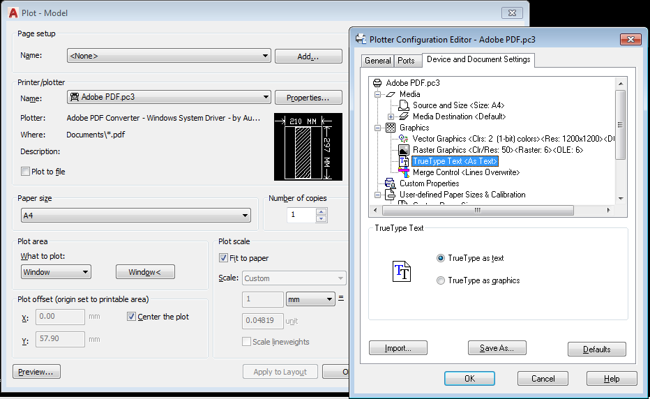 how to change font in autocad
