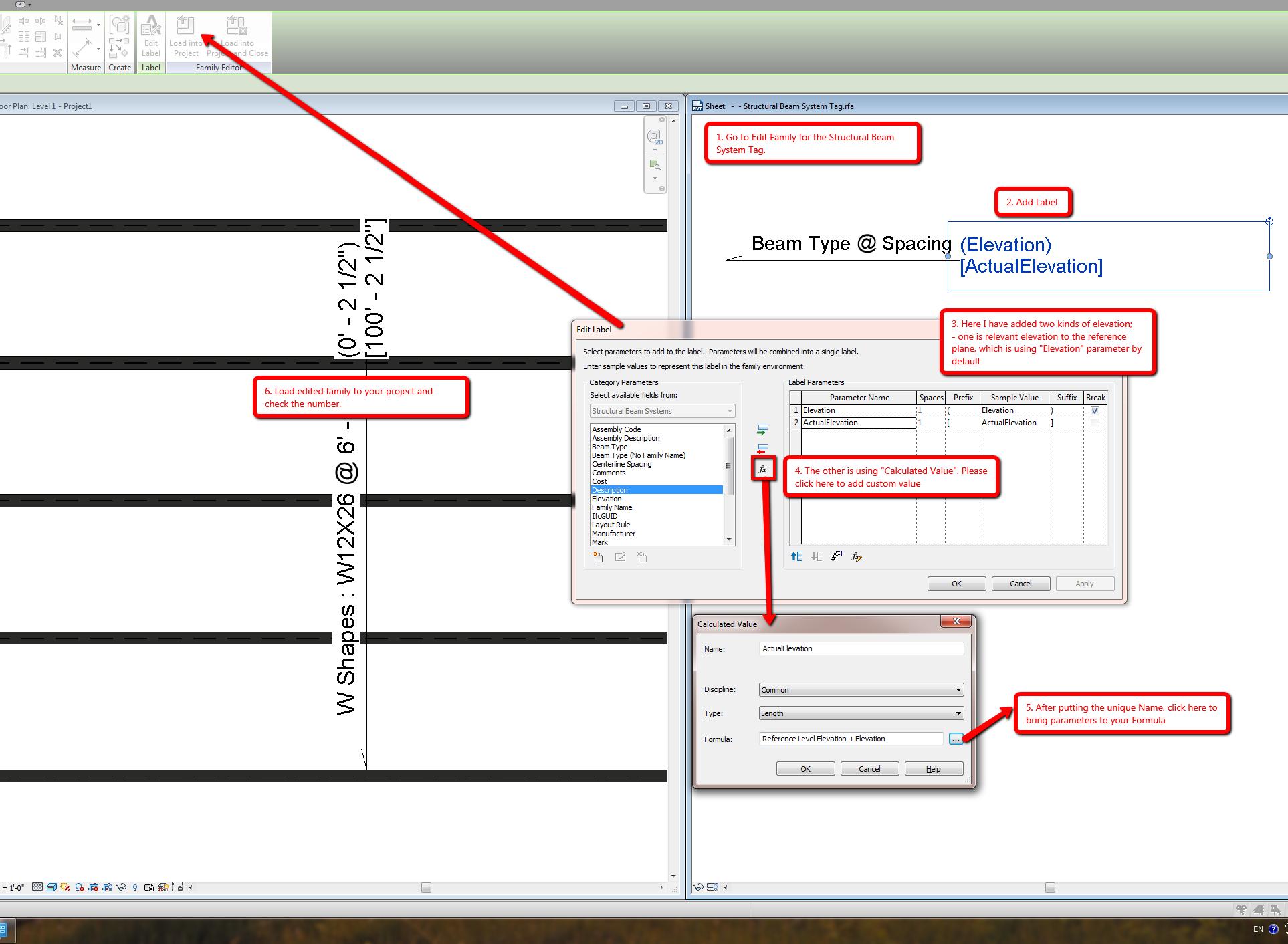 Beam System But Adding Elevation - Autodesk Community- Revit