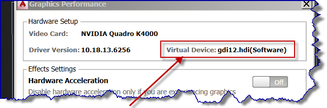 Solved: Cannot enable hardware acceleration Autocad 2015 - Autodesk
