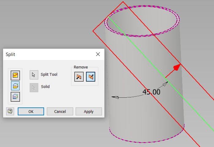 How To Slice Shear Cut Section This Object In Autodesk