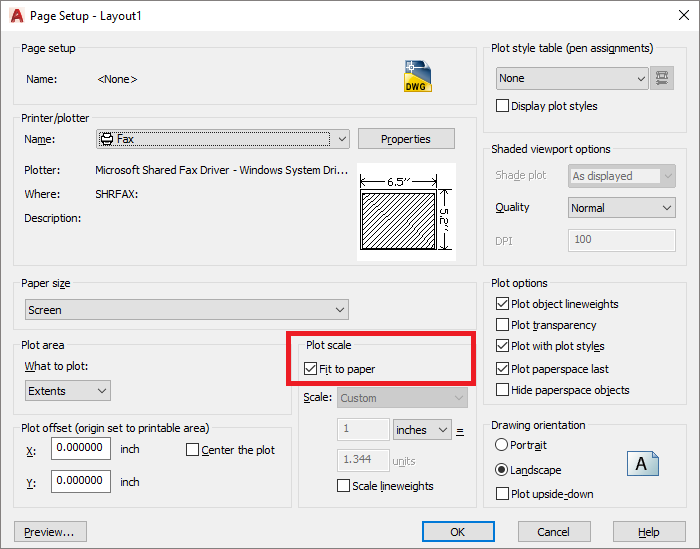 picture relating to Printable Margins identified as Modifying Margins within just paper measurements for AutoCAD - Autodesk