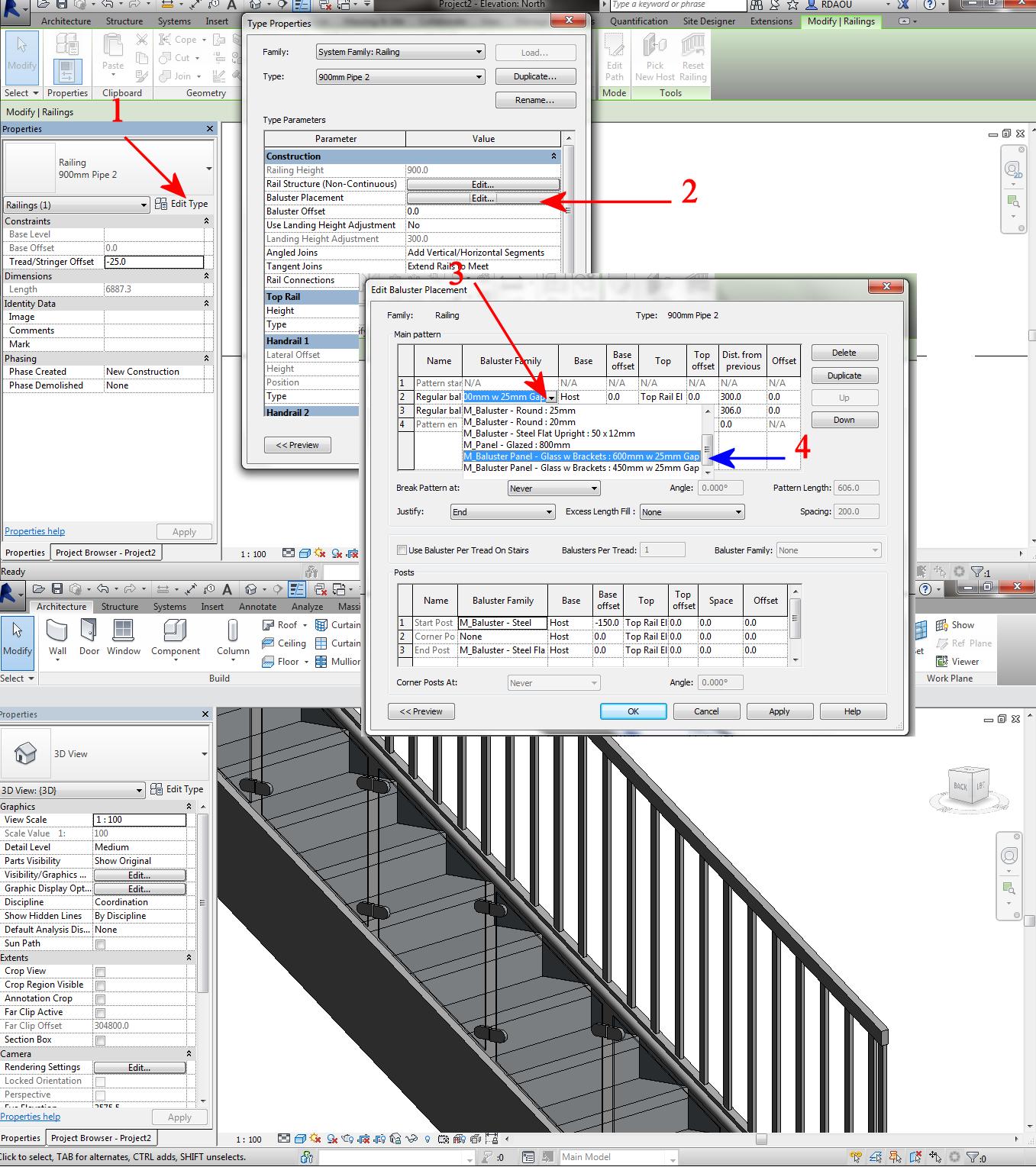 Solved: Loading Railing Family - Autodesk Community