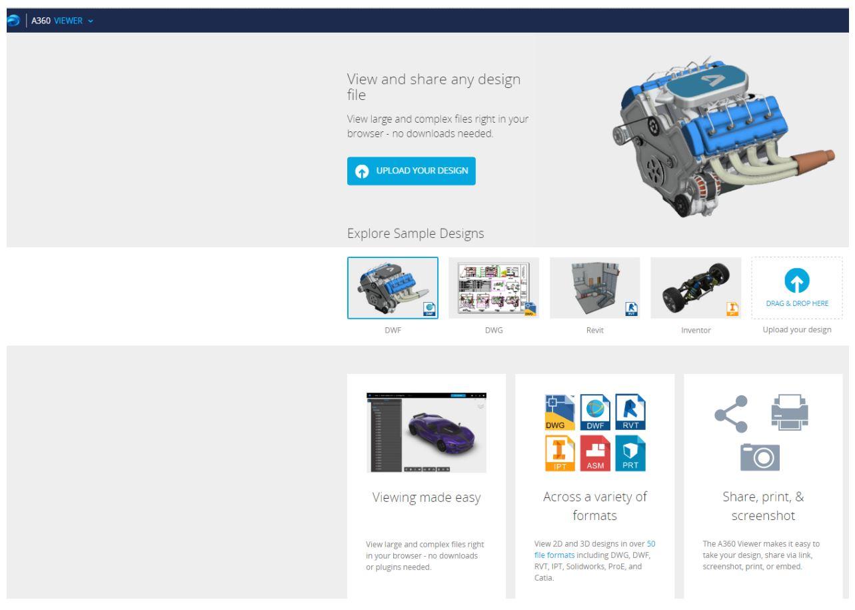 Yeni Online Portal 'Autodesk 360 Viewer' - Autodesk Community