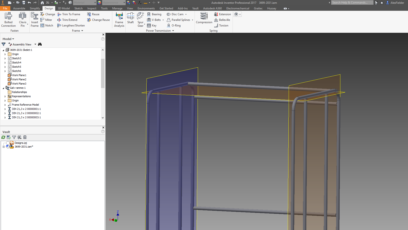 Trim to Frame not working with pipes - Autodesk Community- Inventor