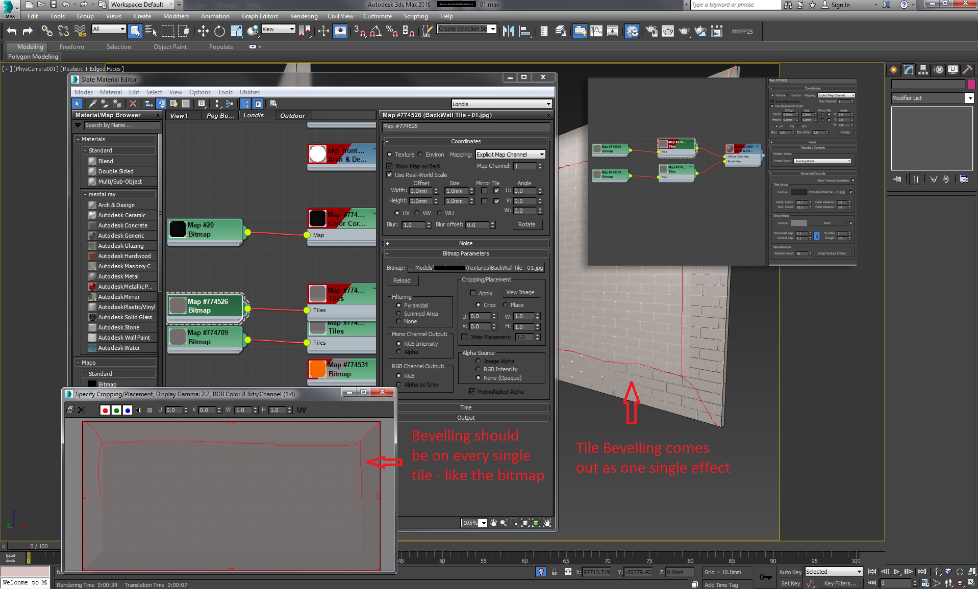 And I doing this wrong, or is it a bug? - Autodesk Community- 3ds Max